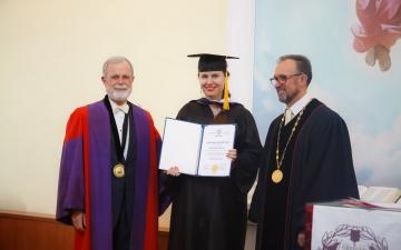 2 ноября 2019 года в Санкт-Петербургской евангелической Богословской Академии состоялась торжественная Градуация наших выпускников!_2