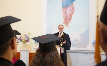 2 ноября 2019 года в Санкт-Петербургской евангелической Богословской Академии состоялась торжественная Градуация наших выпускников!_5
