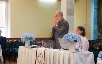 Представление и защита работ в Богословской Академии   Ноябрь 2019