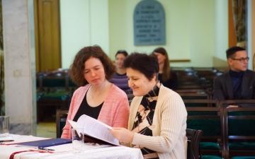 Представление дипломных работ и защита диссертационных работ в Санкт-Петербургской евангелической Богословской Академии._4