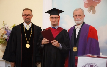 2 ноября 2019 года в Санкт-Петербургской евангелической Богословской Академии состоялась торжественная Градуация наших выпускников!_9